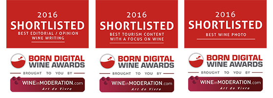 Born Digital Wine Awards - 2016 Shortlisted
