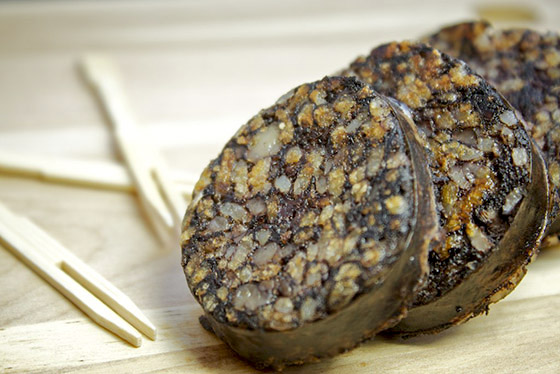 Morcilla de Burgos - photo by Jonathan Pincas