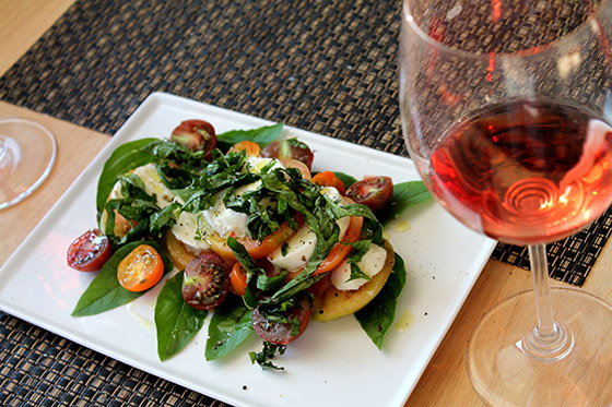 Summer equals Caprese and Rose