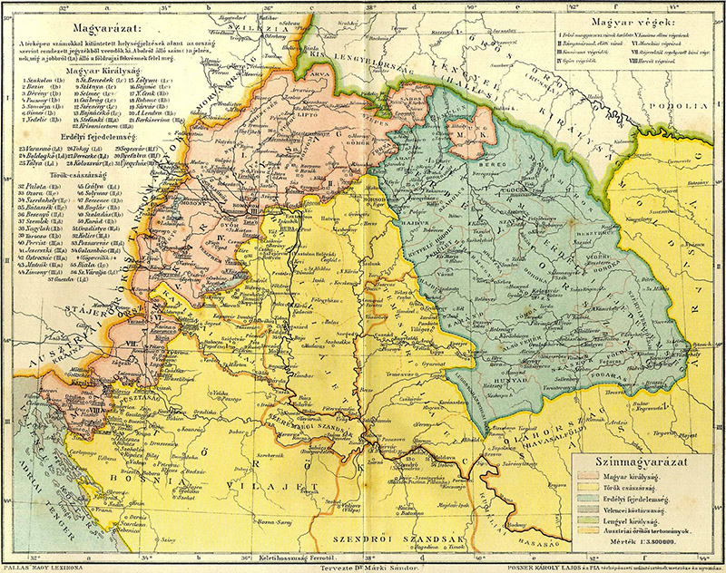 1629 Tokaj wine region was part of Transylvania